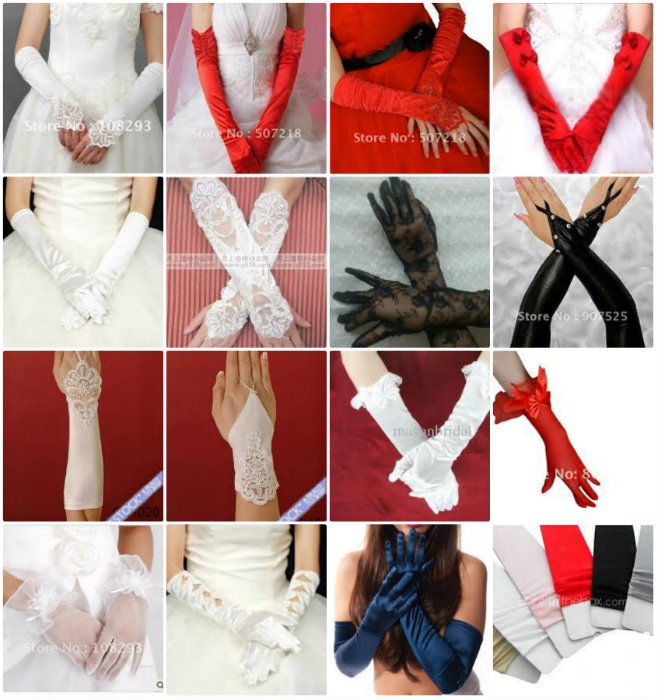 """""""Bridal and Lingerie Gloves at Aliexpress.com"""""""