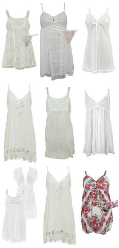 """Designer Bridal Nightwear by Betsey Johnson, Oscar de la Renta, PJ Salvage, Cosabella at Sleepyheads.com"""