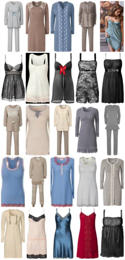 hot products matching in colour discount collection Nightwear at Intimissimi | Top Fashion Lingerie