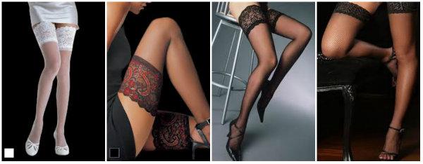 Lace & Motif Lingerie Stockings
